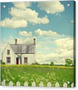 House In The Countryside Acrylic Print