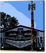 House Of Totem Acrylic Print