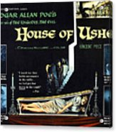 House Of Usher, Aka The Fall Of The Acrylic Print