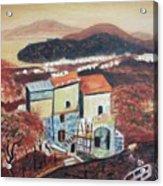 House Sorento Italy Acrylic Print