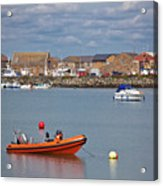 Howth Harbour Acrylic Print