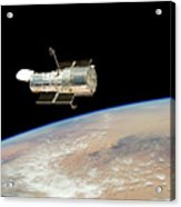 Hubble At Work Acrylic Print