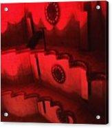 Hues Of Massey Hall - Red Acrylic Print