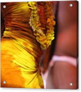 Hula Dancers Acrylic Print