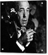 Humphrey Bogart Portrait #1 Circa 1954-2014 Acrylic Print