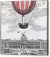 Hydrogen Balloon, 1783 Acrylic Print