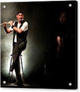 Ian Anderson Of Juthro Tull  Live Concert Acrylic Print