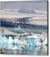 Iceland Glacier Lagoon Acrylic Print