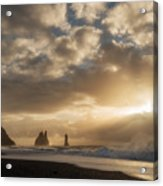 Icelandic Seascape Acrylic Print