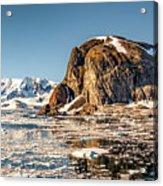 Icy Water Acrylic Print