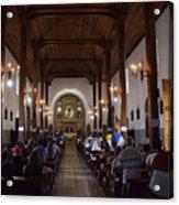 Iglesia Nuestra Senora De La Asuncion Ahuachapan Acrylic Print