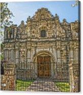 Iglesia San Jose El Viejo - Antigua Guatemala Hdr Acrylic Print