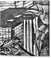 Iguana City Acrylic Print
