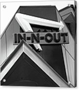 In-n-out Acrylic Print