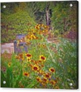 In The Garden Acrylic Print