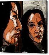 In The Mirror Acrylic Print