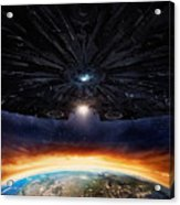 Independence Day Resurgence 2016  Acrylic Print