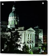 Indian State Capitol Acrylic Print