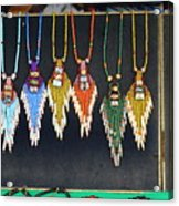 Indigenous Arts And Crafts Acrylic Print