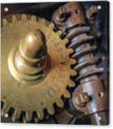 Industrial Gear Acrylic Print