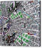 Inside Orbital City Acrylic Print