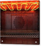 Inside The Oven Front Acrylic Print