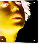 Inverted Realities - Yellow  Acrylic Print