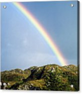 Irish Rainbow Acrylic Print
