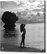 Island Girl Acrylic Print