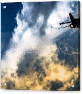 Israel Air Force F-16a Netz Acrylic Print