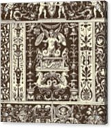 Italian Renaissance Acrylic Print
