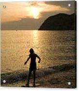 Italian Sunsets Acrylic Print