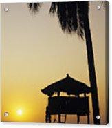 Ixtapa Sunset Acrylic Print