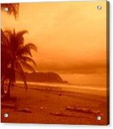 Jaco Beach Costa Rica Acrylic Print
