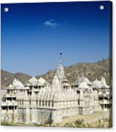 Jain Temple Of Ranakpur Acrylic Print
