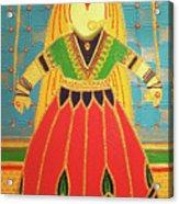 Jaipur's Kathputli Acrylic Print