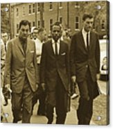 James Meridith And Ole Miss Integration 1962 Acrylic Print