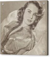 Janet Leigh, Vintage Actress Acrylic Print