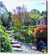Japanese Garden 3 Acrylic Print