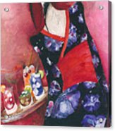 Japanese Girl Acrylic Print