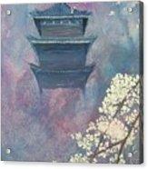 Japanese Spring Scene Acrylic Print