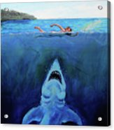Jaws  Revisited Acrylic Print