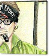 Jay Allen At The Broken Spoke Saloon Acrylic Print