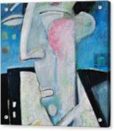 Jazz Face Acrylic Print