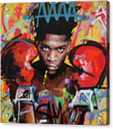 Jean Michel Basquiat Acrylic Print