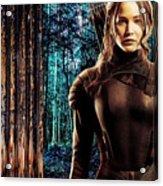 Jennifer Lawrence Collection Acrylic Print