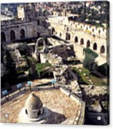 Jerusalem From The Tower Of David Museum Acrylic Print