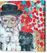Jerusalem Man Acrylic Print