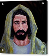 Jesus In Contemplation Acrylic Print