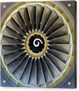 Jet Engine Detail. Acrylic Print